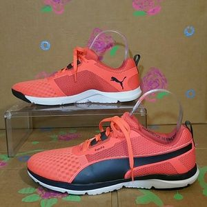 Puma EverFit Hot Orange Sneakers Women's Size 8
